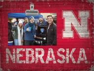Nebraska Cornhuskers Team Name Clip Frame