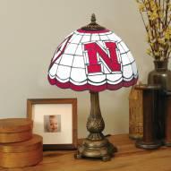 Nebraska Cornhuskers Tiffany Table Lamp