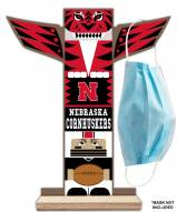 Nebraska Cornhuskers Totem Mask Holder