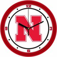 Nebraska Cornhuskers Traditional Wall Clock