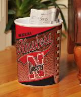 Nebraska Cornhuskers Trash Can