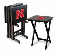 Nebraska Cornhuskers TV Trays - Set of 4