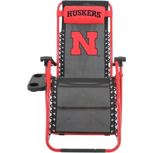 Nebraska Cornhuskers Zero Gravity Chair