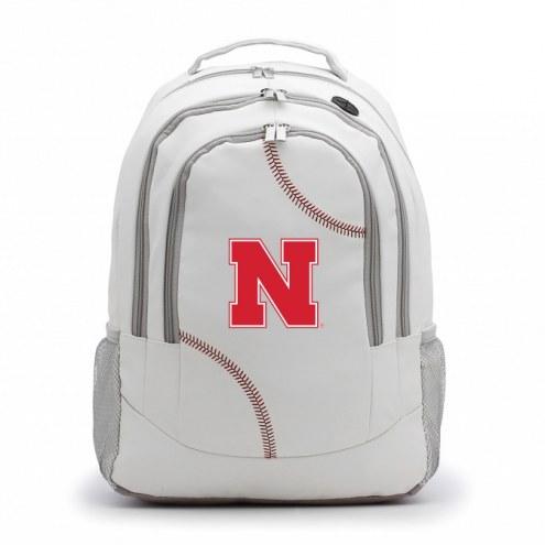Nebraska Cornhuskers Baseball Backpack