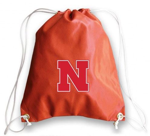 Nebraska Cornhuskers Basketball Drawstring Bag