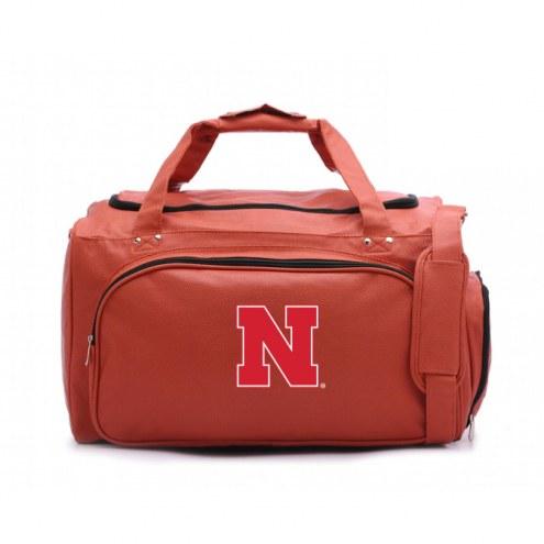 Nebraska Cornhuskers Basketball Duffel Bag