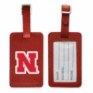 Nebraska Cornhuskers Basketball Luggage Tag