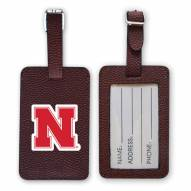Nebraska Cornhuskers Football Luggage Tag
