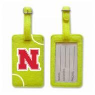 Nebraska Cornhuskers Tennis Luggage Tag