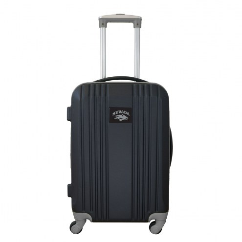"""Nevada Wolf Pack 21"""" Hardcase Luggage Carry-on Spinner"""
