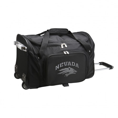 """Nevada Wolf Pack 22"""" Rolling Duffle Bag"""