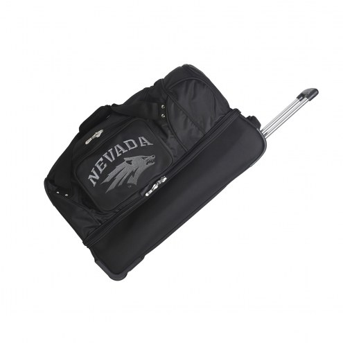 "Nevada Wolf Pack 27"" Drop Bottom Wheeled Duffle Bag"