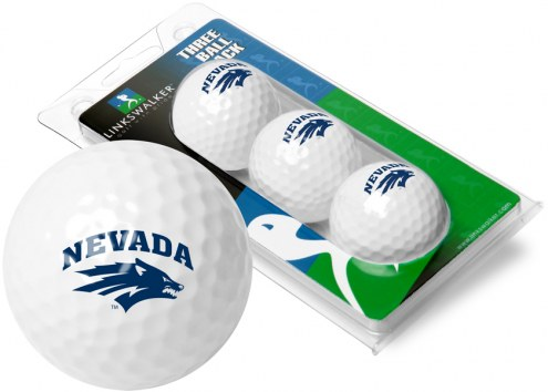 Nevada Wolf Pack 3 Golf Ball Sleeve