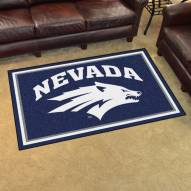 Nevada Wolf Pack 4' x 6' Area Rug