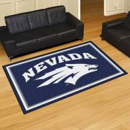 Nevada Wolf Pack 5' x 8' Area Rug