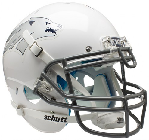 Nevada Wolf Pack Alternate 1 Schutt XP Authentic Full Size Football Helmet