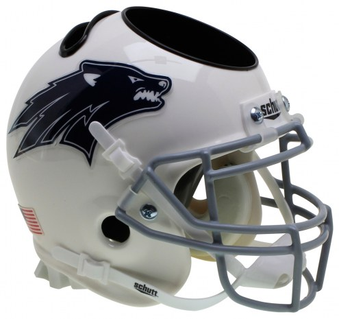 Nevada Wolf Pack Alternate 2 Schutt Football Helmet Desk Caddy