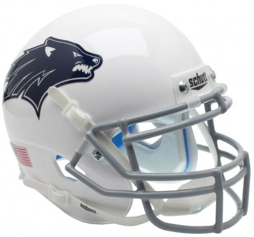 Nevada Wolf Pack Alternate 2 Schutt XP Authentic Full Size Football Helmet