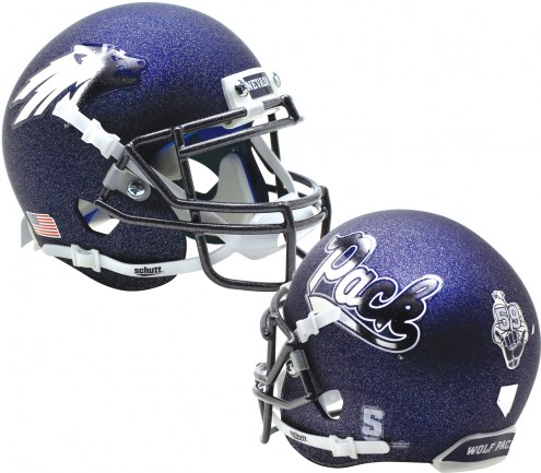 Nevada Wolf Pack Alternate 5 Schutt Mini Football Helmet