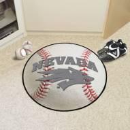 Nevada Wolf Pack Baseball Rug
