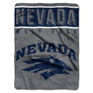 Nevada Wolf Pack Basic Plush Raschel Blanket