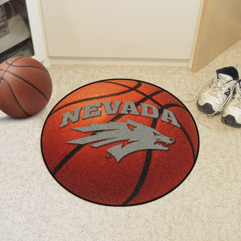 Nevada Wolf Pack Basketball Mat