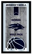 Nevada Wolf Pack Basketball Mirror