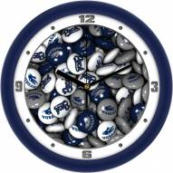 Nevada Wolf Pack Candy Wall Clock