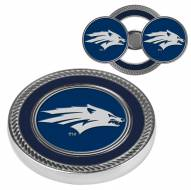 Nevada Wolf Pack Challenge Coin with 2 Ball Markers