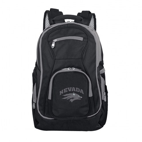 NCAA Nevada Wolf Pack Colored Trim Premium Laptop Backpack