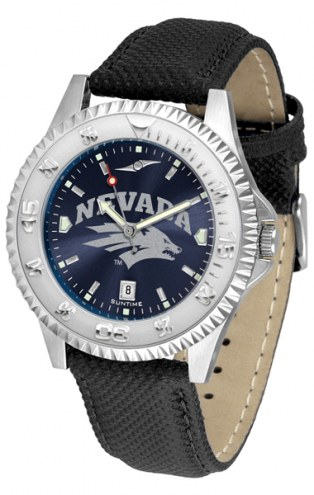 Nevada Wolf Pack Competitor AnoChrome Men's Watch