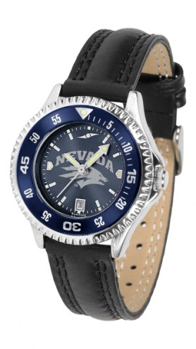 Nevada Wolf Pack Competitor AnoChrome Women's Watch - Color Bezel