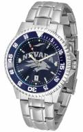 Nevada Wolf Pack Competitor Steel AnoChrome Color Bezel Men's Watch