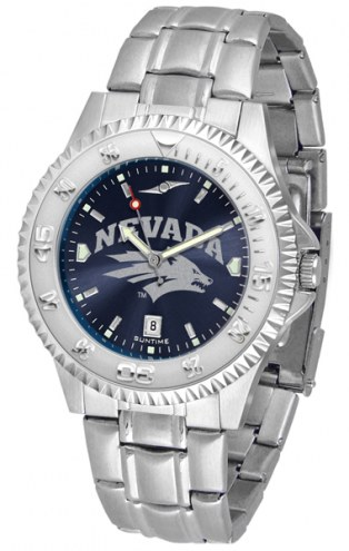 Nevada Wolf Pack Competitor Steel AnoChrome Men's Watch