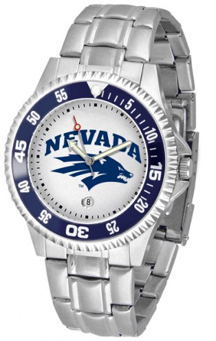 Nevada Wolf Pack Competitor Steel Men's Watch