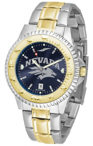 Nevada Wolf Pack Competitor Two-Tone AnoChrome Men's Watch