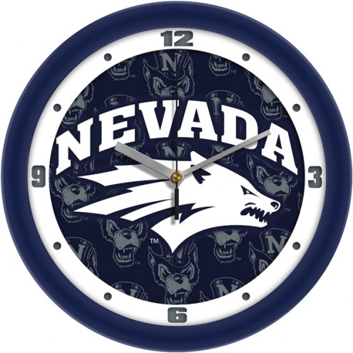 Nevada Wolf Pack Dimension Wall Clock