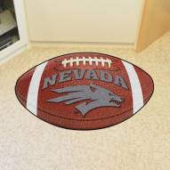 Nevada Wolf Pack Football Floor Mat