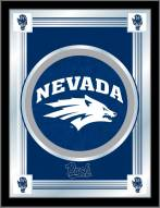 Nevada Wolf Pack Logo Mirror