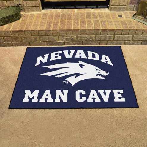 Nevada Wolf Pack Man Cave All-Star Rug