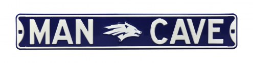 Nevada Wolf Pack Man Cave Street Sign