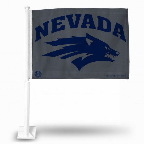 Nevada Wolf Pack Car Flag