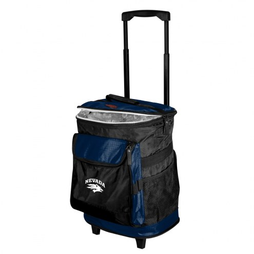 Nevada Wolf Pack Rolling Cooler