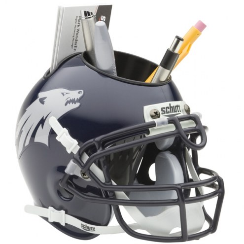 Nevada Wolf Pack Schutt Football Helmet Desk Caddy