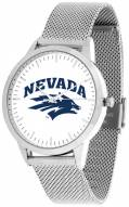 Nevada Wolf Pack Silver Mesh Statement Watch
