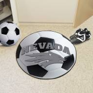 Nevada Wolf Pack Soccer Ball Mat