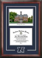 Nevada Wolf Pack Spirit Diploma Frame with Campus Image