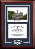 Nevada Wolf Pack Spirit Graduate Diploma Frame
