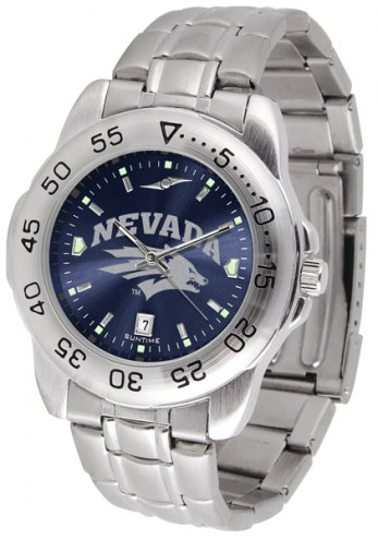 Nevada Wolf Pack Sport Steel AnoChrome Men's Watch