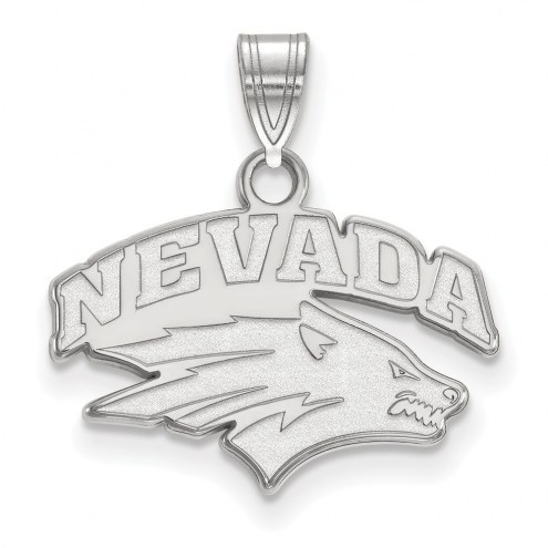 Nevada Wolf Pack Sterling Silver Small Pendant